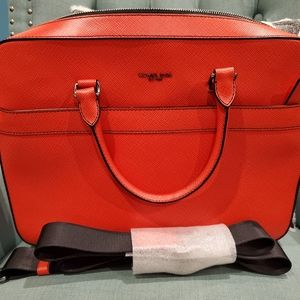 "Michael Kors ""Harrison"" leather briefcase"